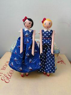 Clothespin Dolls, Wooden Dolls, Fairy Dolls, Handmade Dolls, Little Darlings, Lovely Things, Attic, Folk, Angels