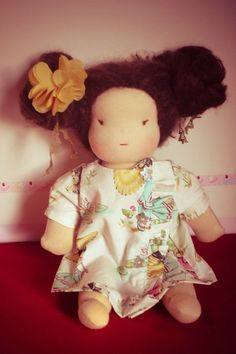 Asian doll made by Bulle de Gum