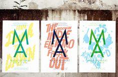 Frankfurt design studio Arndt Benedikt and their prolific poster design output