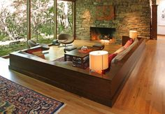 Sunken-Living-Room-Designs-The-Perfect-Conversation-Pits2 Best Sunken Living Room Designs (41 Conversation Pits)