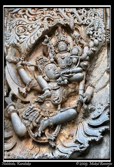 Sculpture, Halebidu | Halebidu is located in Hassan District… | Flickr