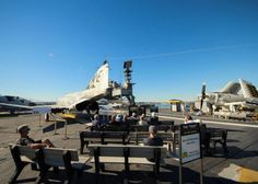 Behold the USS Midway, the largest aircraft carrier in the world that you can tour