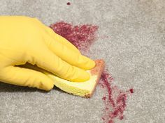 How to Remove Permanent Hair Dye from Carpets -- via wikiHow.com