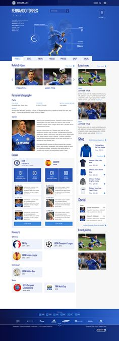 Chelsea FC Website: Player / Alex Deruette