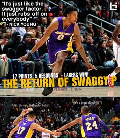 68e4fc493 Swaggy P returns and scores 17 points in 28 minutes off the bench. Lakers  win