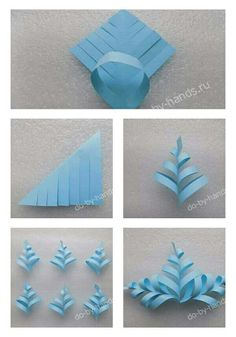 Christmas Origami, Christmas Ornaments To Make, Christmas Deco, Christmas Crafts, Christmas Time, Easy Arts And Crafts, Hobbies And Crafts, Diy And Crafts, Paper Crafts