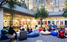 Google Offices - soft seating