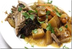 Clean eating crock pot pot roast