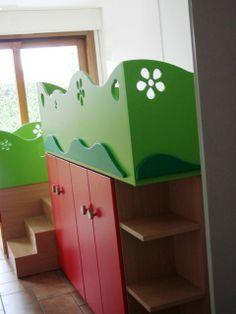 Nelle camerette delle Schegge sono gli spazi che si adeguano alle fantasie dei bambini!