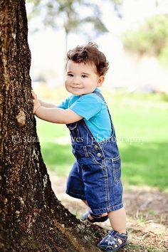 Outdoor Spring Photography Toddler Boy