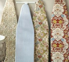 Shop pb ironing board covers from Pottery Barn. Our furniture, home decor and accessories collections feature pb ironing board covers in quality materials and classic styles. Old Ironing Boards, Ironing Board Covers, Decorative Accessories, Home Accessories, Laundry Decor, Laundry Rooms, Sewing Crafts, Sewing Projects, Sewing Ideas