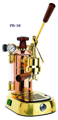 Espresso Outlet - La Pavoni Model PB-16 Lever Espresso Machine, Copper /Brass Item
