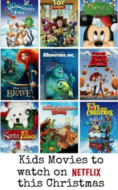 Kids movies to watch on Netflix this Christmas