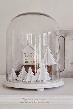 Idea árboles papel