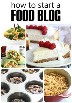 How to start a food blog in 3 simple steps!