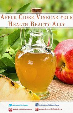 Apple Cider Vinegar your Health Beauty Ally  #beauty #health