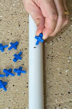 PVC sprinkler with mister jets. Interesting addition to our sprinkler.   Awesome Materials