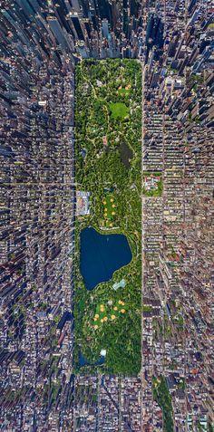 New York City. Manhattan from above.