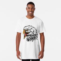 Usa Shirt, My T Shirt, Chiffon Tops, Classic T Shirts, Eagle, Symbols, Printed, Awesome, Mens Tops