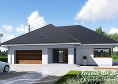 Modern Exterior, Interior Exterior, Home Building Design, Building A House, Bungalow House Design, Bedroom House Plans, House Entrance, Design Case, House Painting