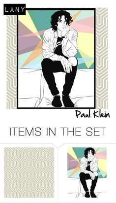 """Paul Klein From LANY"" by vanidclothing ❤ liked on Polyvore featuring art, music, ILYSB, LANY and thisislany"
