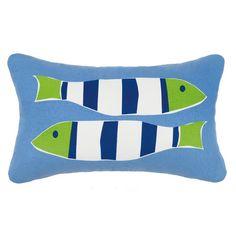 Found it at Joss & Main - Nautical Outdoor Lumbar Pillow