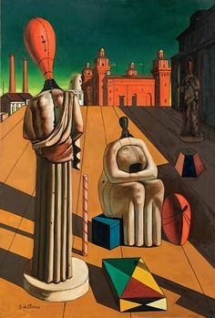 Giorgio de Chirico The disturbing muses Figure Painting, Painting & Drawing, Pop Art Wallpaper, Surrealism Painting, Famous Art, Arte Pop, Italian Artist, Surreal Art, Les Oeuvres