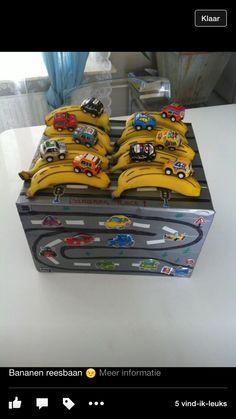 Bananen racebaan