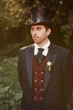 Steampunk Kostüm für Männer selber machen