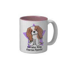 Cavalier Spaniel Cavalier Mug Black Cavalier King Charles