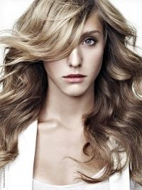 Hair Color, Blonde Hair with Brown Lowlights