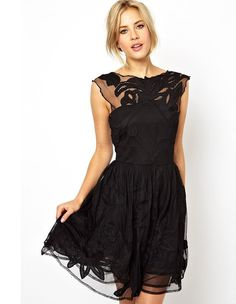 Perfect black cocktail dress