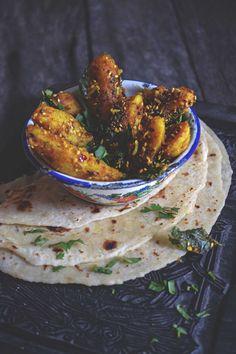 Gujarati potatoes recipe