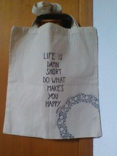 Stofftasche mit Spitze <3 What Makes You Happy, Are You Happy, Paper Shopping Bag, Reusable Tote Bags, Make It Yourself, How To Make, Lace, Taschen