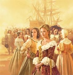 """The """" Kings Daughter's"""" (King Louis XIV), french women sent to the newworld to increase stable farming presence in New france (canada late Ap World History, Canadian History, History Photos, Family History, Canadian French, French History, Quebec, Aubry, Family Roots"""