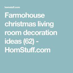Farmohouse christmas living room decoration ideas (62) - HomStuff.com
