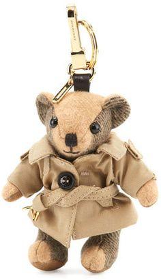 0b0e3e5bec57 Burberry Thomas Trenchcoat Bear Bag Charm