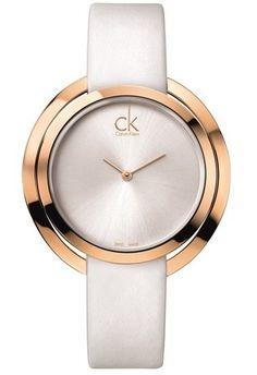 6c6fc8c00cb Montre CK Aggregate K3U236L6 Calvin Klein Blanc