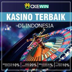 Apakah Anda orang yang mencari Kasino Online terbaik di Indonesia? Jika ya, hubungkan Anda dengan http://Okewon.net . #Casino #Indonesia #BestCasino #OnlineCasino