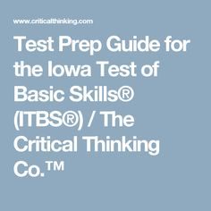 critical thinking and standardized testing Critical thinking questions why do some people feel that standardized testing is  harmful for students do you think testing serves a purpose in.