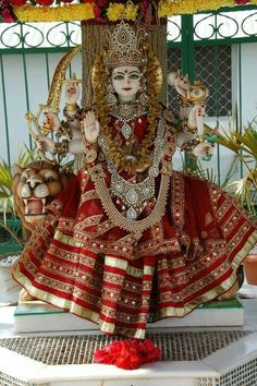 Maa Durga Photo, Maa Durga Image, Lord Durga, Durga Ji, Navratri Wallpaper, Mata Rani, Durga Images, Hindu Rituals, Krishna Statue