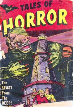 Comic Book Cover For Tales of Horror #7