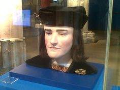 Richard III's face reconstruction at the Yorkshire Museum, York