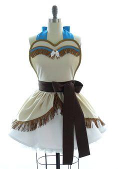 Pocahontas apron
