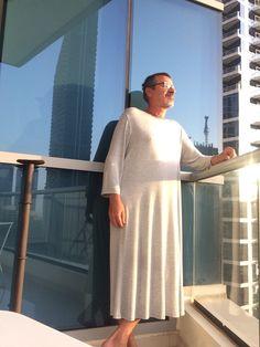 Ready for a walk in Dubai Men Wearing Dresses, Types Of Fashion Styles, Nightwear, Dubai, Normcore, Rompers, Shirt Dress, Shorts, How To Wear