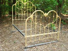 Heart bed sold in New Orleans; bought by business in Texas and sold again. I wanted that bed!
