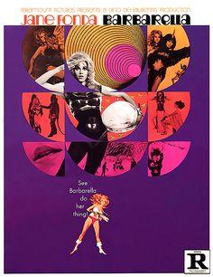 Barbarella (1966) starring Jane Fonda