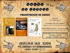 JUL 28 Noche de Letras - Vol XIV