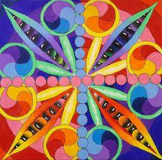 Symmetrical balance Art Ed Central 8th grade