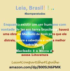 CONTOS DO MACHADO, da KINDLE. LEIA. COMPARTILHE. ESPALHE: amazon.com/dp/B00SLN6PMK